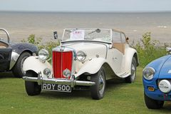 MG Classic Convertible Royalty Free Stock Photo