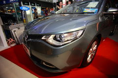 MG 5. The MG 5 is a compact car that has been produced by the British company MG Motors from 2012 onwards. It was launched on 28 March 2012 in China and shares Royalty Free Stock Photos