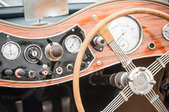 MG dashboard Stock Photography