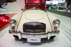 MG A on display Royalty Free Stock Photo