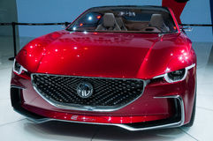 MG E-motion concept at the Shanghai Auto Show Royalty Free Stock Image