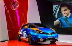 MG 3 está na exposição Imagem de Stock