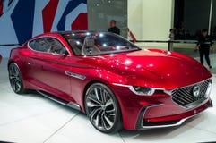 MG-Gefühlkonzept an der Shanghai-Automobilausstellung Stockfoto