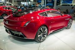 MG-Gefühlkonzept an der Shanghai-Automobilausstellung Lizenzfreies Stockfoto