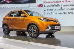 MG GS, SUV汽车,显示在泰国第37个曼谷国际性组织 图库摄影
