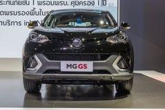 MG GS, SUV汽车,显示在泰国第37个曼谷国际性组织 免版税库存照片