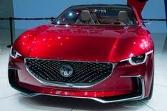 MG-het Emotieconcept in Shanghai Auto toont Royalty-vrije Stock Afbeelding