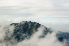 mgła hill Zdjęcia Stock