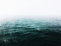 Mgła i morze Zdjęcie Royalty Free