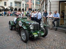 MG K3 Magnette at Mille Miglia 2015 Royalty Free Stock Images