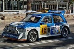 MG metro 6R4 05 - WRC - Obraz Stock