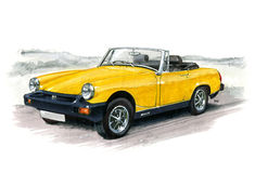 MG Midget Royalty Free Stock Photos