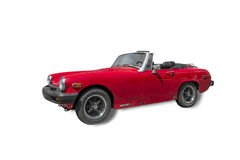 MG Midget. The MG Midget is a small two-seater sports car produced by the MG division of the British Motor Corporation from 1961 to 1979. Isolated on white Royalty Free Stock Photo