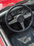 MG Midget steering wheel Royalty Free Stock Photography