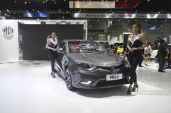 Mg6 motorowy samochód przy Bangkok Międzynarodową Uroczystą Motorową sprzedażą 2015 Obraz Stock