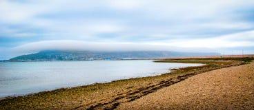 Mgła Nad Portlandzki UK Obrazy Royalty Free