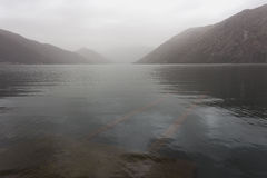 Mgłowa Bok zatoka Obraz Royalty Free