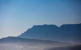 Mgłowa ziemia zdjęcie stock