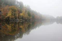 mgłowy ranek Zdjęcia Stock
