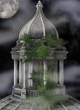 mgłowy wierza Zdjęcia Stock