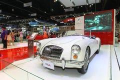 MG pokazu Tajlandia zawody międzynarodowi silnika Samochodowy expo 2013 Zdjęcie Royalty Free