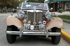 MG retro car Stock Photos