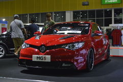 MG5 reveiled of FAST Auto Show Thailand 2016 Royalty Free Stock Photography