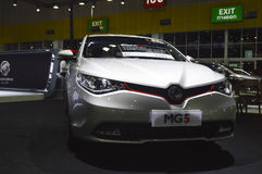 MG5 reveiled of FAST Auto Show Thailand 2016 Stock Photo