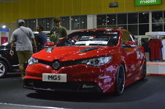 MG5 reveiled of FAST Auto Show Thailand 2016 Royalty Free Stock Photo
