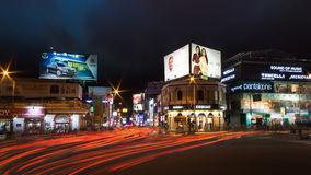 MG Road and Brigade Road, Bangalore. Rush hour at MG Road and Brigade Road, Bangalore Stock Photography