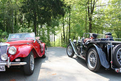 mg-roadster Royaltyfria Bilder