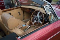 MG roadster Arkivfoton