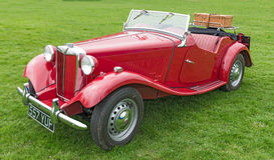 MG samochód Obraz Royalty Free