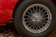 MG samochodów retro samochód fotografia stock