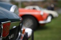 MG samochody zdjęcia royalty free
