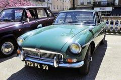 MG sportbil av 50-tal Fotografering för Bildbyråer