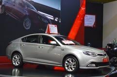 MG sprzedaży sklep SZYBKI Auto przedstawienie Tajlandia 2016 (TAJLANDIA) obraz stock