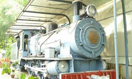MG - STOOMlocomotief Stock Afbeeldingen
