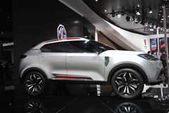 MG suv Royalty Free Stock Images