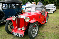 MG TA 2 seater sports from 1938. Royalty Free Stock Photography