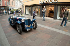 MG TB at Mille Miglia 2015 Royalty Free Stock Photo