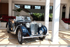 MG TB on Vintage Car Parade Royalty Free Stock Image