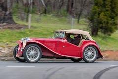 1947 MG TC Tourer Royalty Free Stock Photo