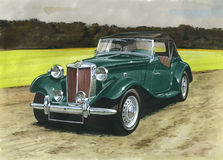 MG TD Royalty-vrije Stock Afbeelding