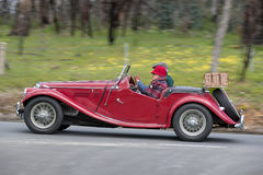 1954 MG TF Tourer Royalty-vrije Stock Fotografie