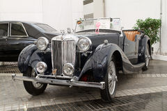 MG VA, Vintage cars Royalty Free Stock Photography