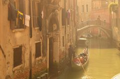 mgła Venice Fotografia Stock