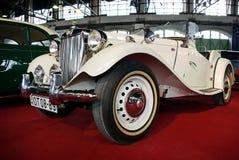 MG vintage car royalty free stock image