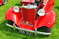 MG vintage car Royalty Free Stock Photo