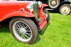 MG vintage car Royalty Free Stock Photos